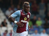 Aston Villa's Yacouba Sylla in actio during a friendly match against Luton on July 23, 2013
