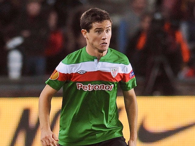Athletic's Ander Herrera in action against Sparta Prague on October 12, 2012