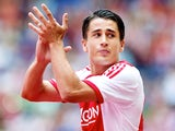On loan Barcelona frontman Bojan Krkic playing for Ajax on July 25, 2013