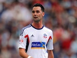 Bolton's Chris Eagles in action against Burnley on August 3, 2013