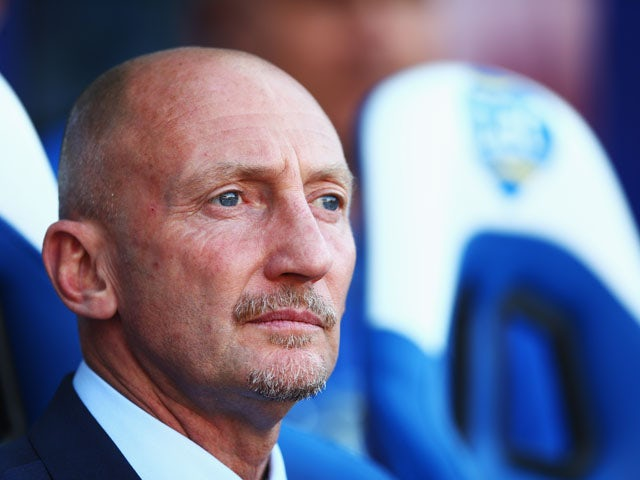 Crystal Palace manager Ian Holloway looks on during the Barclays Premier League match between Crystal Palace and Sunderland at Selhurst Park on August 31, 2013