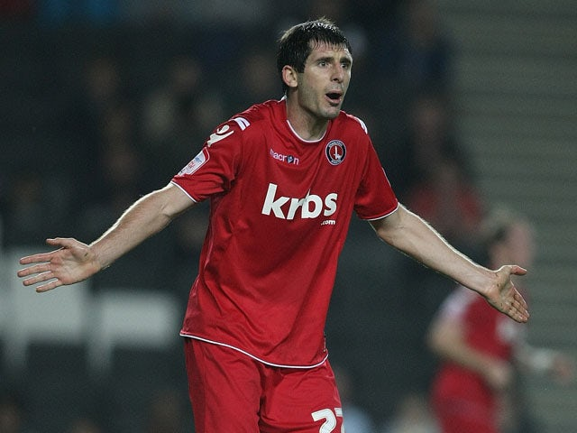 Danny Hollands of Charlton Athletic in action during the npower League One match between MK Dons and Charlton Athletic at Stadium MK on September 27, 2011