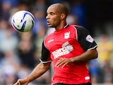 Ipswich forward David McGoldrick in action against QPR on August 17, 2013