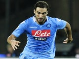 Napoli's Gonzalo Higuain in action against Bologna on August 25, 2013