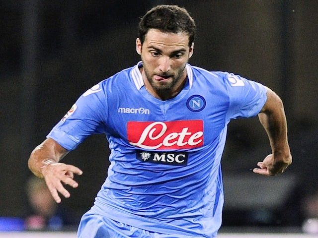 Result: Higuain off the mark as Napoli win