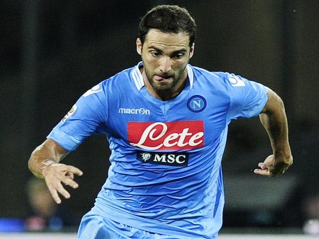 Result: Higuain off the mark as Napoli win