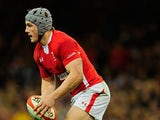 Wales' Jonathan Davies in action against England during their Six Nations match on March 16, 2013