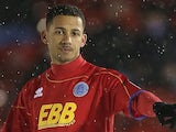 Lionel Ainsworth in action for Aldershot Town on January 22, 2013