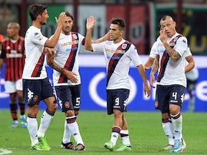 Half-Time Report: Sau gives Cagliari lead