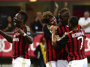 Team News: Balotelli starts for Milan