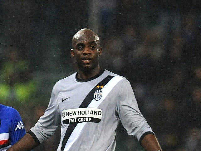 Juventus' Mohammed Sissoko in action during the match against Sampdoria on March 21, 2010