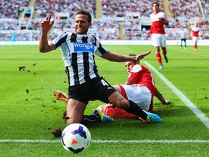 Pardew unsure of Cabaye stay