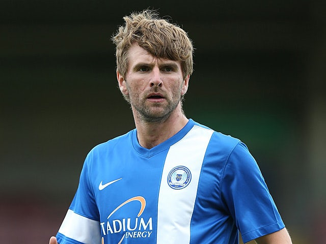 Peterborough's Paddy McCourt in action during a friendly match against Northampton on July 20, 2013