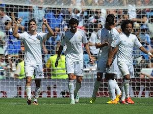 Half-Time Report: Riera brace stuns 10-man Real