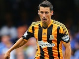 Hull's Robert Koren controls the ball against Chelsea on August 18, 2013