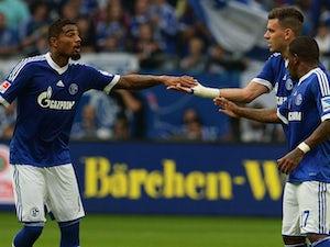 Boateng brace helps Schalke beat Bremen
