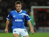 Simon Ferry in action against Bournemouth on August 6, 2013