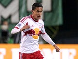 Tim Cahill #17 of New York Red Bulls controls the ball during the second half of the game against the Portland Timbers at Jeld-Wen Field on March 03, 2013