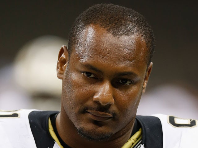 Will Smith #91 of the New Orleans Saints during the game against the Jacksonville Jaguars at the Mercedes-Benz Superdome on August 17, 2012