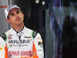 Adrian Sutil of Germany and Force India prepares to drive during practice for the Belgian Grand Prix at Circuit de Spa-Francorchamps on August 23, 2013