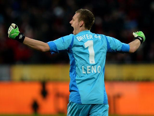 Result: Leverkusen scrape through on penalties