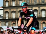 Sir Bradley Wiggins of Sky and Great Britain prepares to ride during stage one of the 2013 Giro d'Italia on May 4, 2013