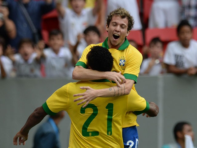 Result: Brazil put six past Australia