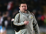Wasps director of football Dai Young during his team's match against Worcester Warriors on March 1, 2013