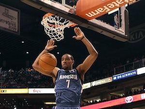 Timberwolves exercise Williams option?