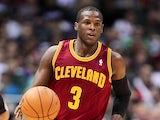 Cleveland Cavaliers shooting guard Dion Waiters in action against Milwaukee Bucks on November 3, 2012