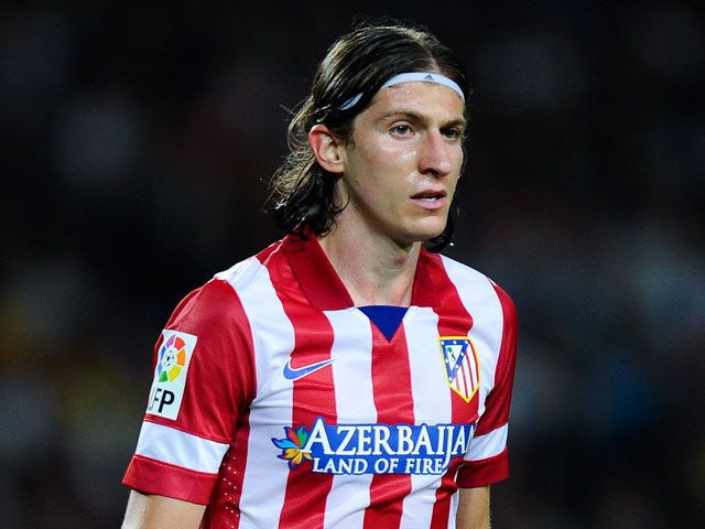 Filipe Luis out of Galatasaray clash
