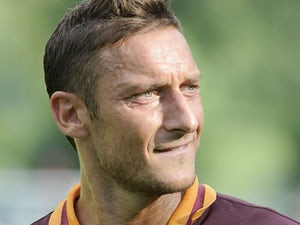 Allegri wary of Totti threat