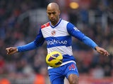 Jimmy Kebe of Reading in action during the Barclays Premier League match between Stoke City and Reading at the Britannia Stadium on February 9, 2013