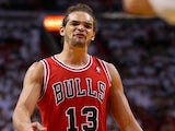 Bulls' Joakim Noah in action against Miami Heat on May 15, 2013