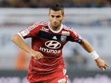 Lyon midfielder Maxime Gonalons in action against Sochaux on August 16, 2013