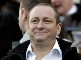 Newcastle United's owner Mike Ashley watches his team play Chelsea in the English Premier League football match at St James' Park, Newcastle-upon-Tyne on December 3, 2011