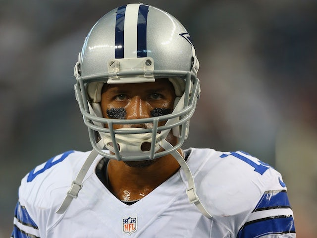 Cowboys WR Miles Austin in action against Cincinnati Bengals on August 24, 2013