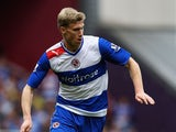 Pavel Pogrebnyak of Reading in action during the Barclays Premier League match between West Ham United and Reading at the Boleyn Ground on May 19, 2013