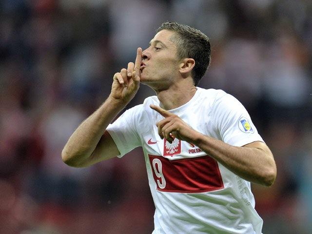 Result: Lewandowski scores four against Gibraltar