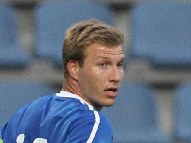 Augsburg defender Ragnar Klavan on international duty for Estonia in May 2012.