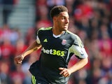 Ryan Shotton of Stoke City in action during the Barclays Premier League match between Southampton and Stoke City at St Mary's Stadium on May 19, 2013
