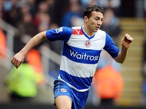 Stephen Kelly of Reading during the Premier League match between Reading and Aston Villa at Madejski Stadium on March 9, 2013
