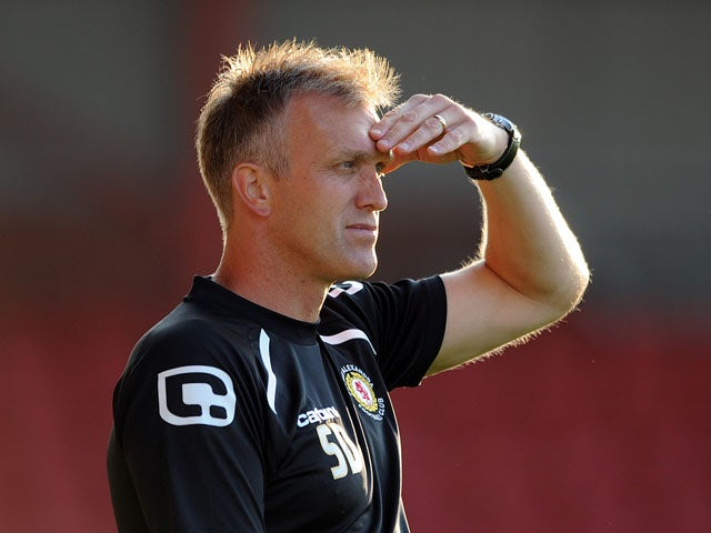 Davis 'delighted' with Crewe comeback