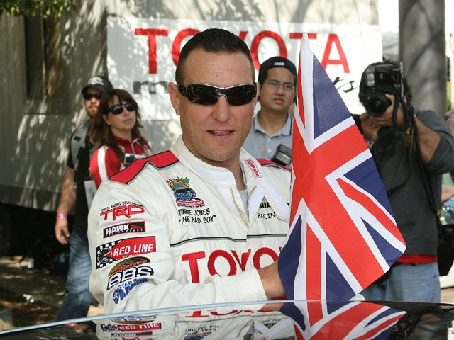 Vinnie Jones attends the Toyota Grand Prix of Long Beach Celebrity Race on April 8, 2006