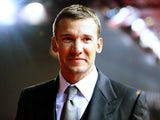 Andriy Shevchenko poses during the red carpet arrivals for the FIFA Ballon d'Or Gala 2012 on January 7, 2013