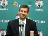 New Celtics coach Brad Stevens meets the media on July 5, 2013