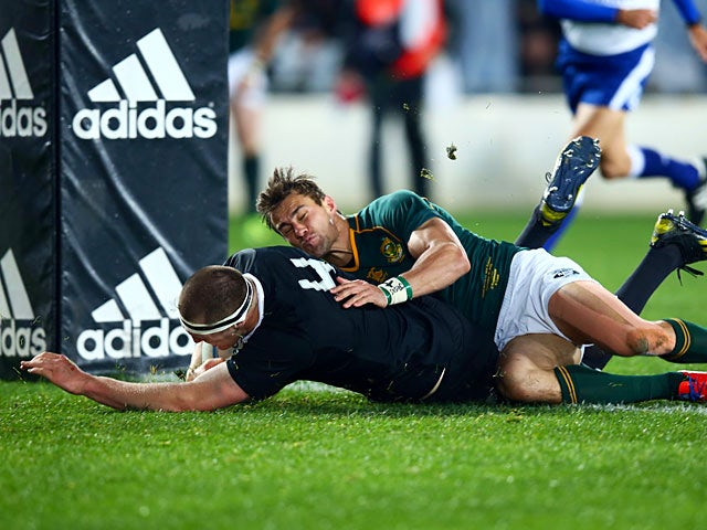 Result: All Blacks beat 14-man South Africa