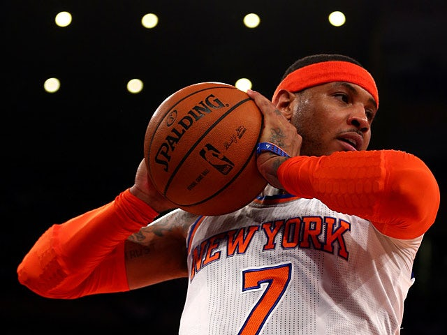 Anthony: 'It's all coming together for Knicks'