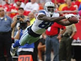 Dallas' Dez Bryant dives in to score against Kansas City on September 15, 2013