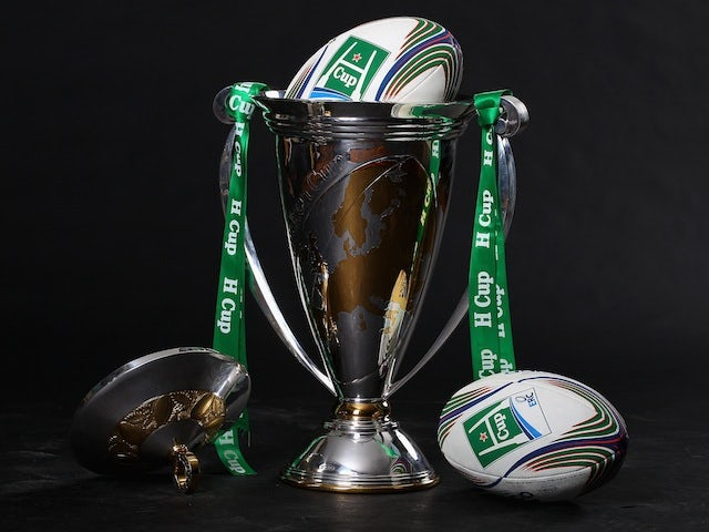 The Heineken Cup at the Heineken Cup Launch in Paris on November 7, 2011